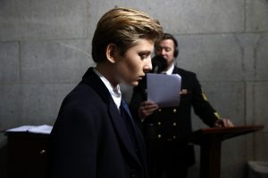 Jauniausias D. Trumpo sūnus švenčia 12-ąjį gimtadienį