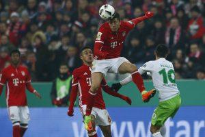 """Miuncheno """"Bayern"""" pateko į Vokietijos taurės ketvirtfinalį"""