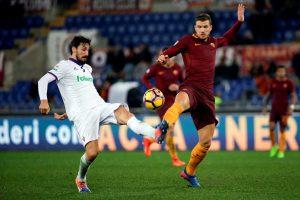 """""""Serie A"""": E. Džeko dublis ir triuškinanti """"Roma"""" pergalė"""