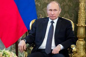 V. Putinas pasveikino Turkijos prezidentą su pergale referendume