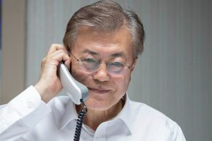 Pietų Korėjos ir JAV prezidentai kartu spręs saugumo problemas