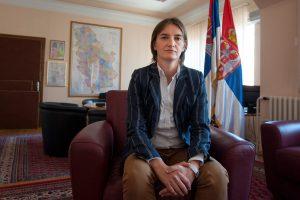 Serbijos prezidentas į premjeres pasiūlė lesbietę