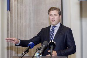 Byrant Islandijos koalicinei vyriausybei gali būti skelbiami dar vieni rinkimai