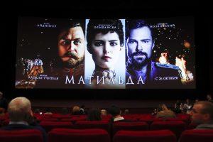 Nepaisant priešiškumo Rusijoje vyksta filmo apie caro romaną premjera