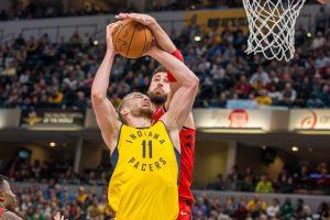 """Permainingame """"lietuviškų"""" NBA klubų mūšyje – D. Sabonio ir """"Pacers"""" triumfas"""