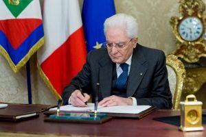 Italijos parlamentas paleidžiamas prieš kovą vyksiančius rinkimus