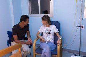 Sirijos prezidento žmonai diagnozuotas krūties vėžys