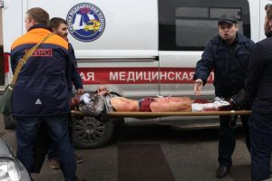 Sprogimo Sankt Peterburgo metropolitene aukų padaugėjo iki 15