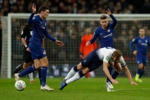 """Anglijos lygos taurės pusfinalis: """"Tottenham Hotspur"""" palaužė """"Chelsea"""" klubą"""