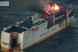 Nuskendusiame Italijos laive buvo 45 konteineriai su pavojingomis medžiagomis