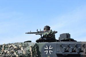 Iš Vokietijos į Lietuvą išlydėta likusi NATO bataliono karinė technika