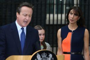 Buvusio britų premjero žmona S. Cameron įkūrė mados kompaniją