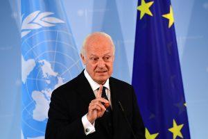 Jungtinių Tautų atstovas ragina Sirijos konflikto puses prisiimti istorinę atsakomybę