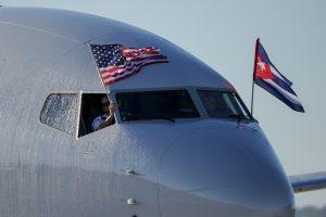 JAV oro vežėjai pirmą kartą per pusšimtį metų pradeda skrydžius į Havaną