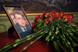 Karstas su Rusijos ambasadoriaus palaikais grįžta į Maskvą iš Ankaros