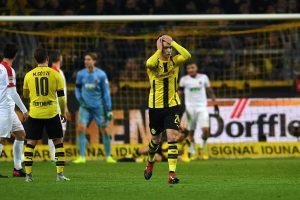 """Bundeslyga: """"Borussia"""" visus metus nepralaimėjo namuose"""