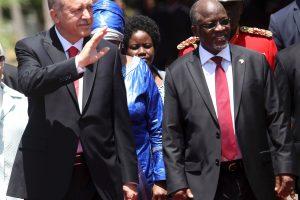 R. T. Erdoganas prašo Tanzanijos imtis veiksmų prieš Guleno tinklą