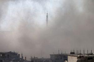 Sirija sutinka nutraukti ugnį, kad būtų tiriamos cheminės atakos aplinkybės