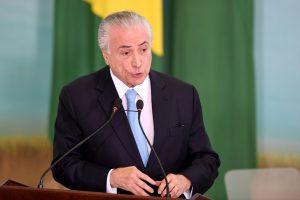 Brazilijos rinkimų teismas nubalsavo neatimti prezidento M. Temero mandato