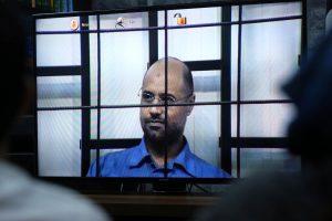 """Prokurorai: """"paleisto"""" M. Kadhafi sūnaus laukia Libijos teismas"""
