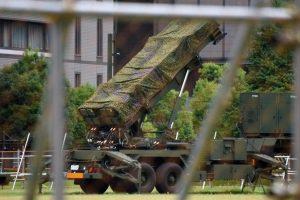 Japonija dislokuoja priešraketines sausumos raketas