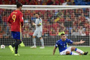 Laimėjo svarbų mūšį: ispanai nugalėjo Italijos futbolininkus