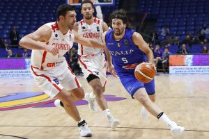 Gruzinišką riešutą vos perkandusi Italija – aštuntfinalyje