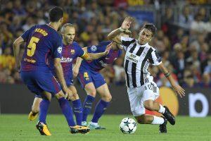 """Čempionų lygos starte – """"Barcelona"""" žvaigždyno smūgis """"Juventus"""" futbolininkams"""
