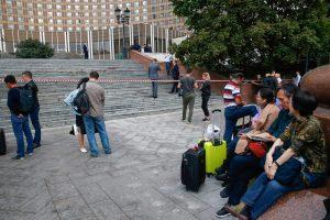 Maskvoje per dieną užfiksuota per 30 pranešimų apie užminuotas viešąsias vietas