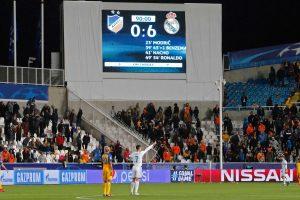 """""""Real"""" futbolininkai iškovojo triuškinančią pergalę Kipre"""