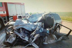 Tragiška avarija prie Birštono: vienas žmogus žuvo vietoje