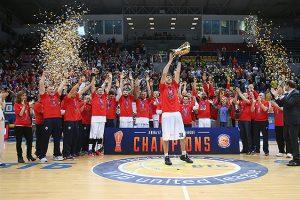 CSKA krepšininkai tapo VTB Jungtinės lygos čempionais