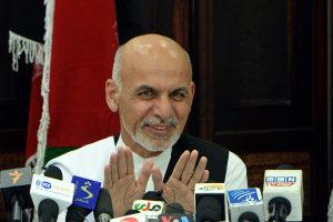 Afganistane prezidento rinkimus laimėjo A. Ghani, rodo preliminarūs rezultatai