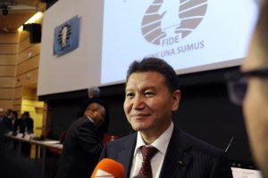 K. Iliumžinovas tarptautinei šachmatų federacijai vadovaus dar ketverius metus