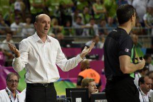 J. Zdovcas paskelbė galutinę Slovėnijos krepšinio rinktinės sudėtį