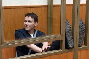 Rusijos areštinėje badaujanti N. Savčenko tikisi išsilaikyti dar 4 dienas