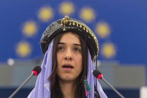 Buvusi sekso vergė N. Murad: premija - tai reikšminga pergalė ne tik man