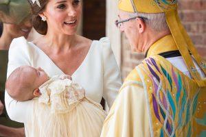 Pakrikštytas jauniausias princo Williamo ir hercogienės Kate sūnus