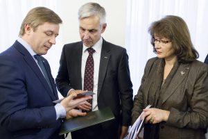 """""""Valstiečių žaliųjų"""" frakcijos atstove spaudai dirbs žurnalistė V. Vervečkaitė"""