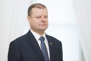 S. Skvernelis nemano, kad R. Valentukevičius pakenkė VTEK