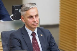 P. Urbšys: M. Basčiui būtų naudinga pasitikrinti Konstituciniame Teisme