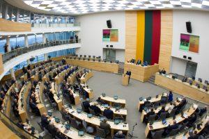 Teisininkai skeptiškai vertina siūlymą stabdyti ministru tapusio Seimo nario mandatą