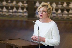 I. Šimonytė: mes su A. Kubiliumi esame krizės pasekmės