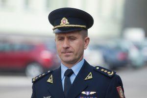 Lietuvos karo akademija mokslo metus pradeda su nauju vadu R. Matuliu
