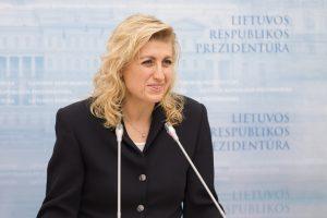 Ministrė nepatenkino patarėjo L. Kontrimo atsistatydinimo prašymo