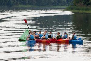 Lietuva, Lenkija ir Baltarusija sieks atgaivinti vandens turizmą