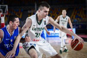 Lietuvos jaunimo krepšinio rinktinė iškrito iš kovos dėl medalių