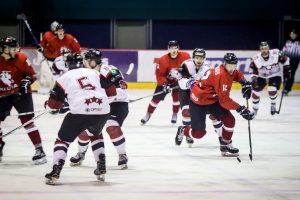 Lietuvos ledo ritulio rinktinė be D. Zubraus įveikė Latvijos klubų rinktinę