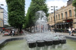 Iki spalio kauniečius džiugins septyni fontanai