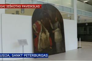 Ilgai ieškotas P. Smuglevičiaus paveikslas pristatytas Ermitažo lankytojams